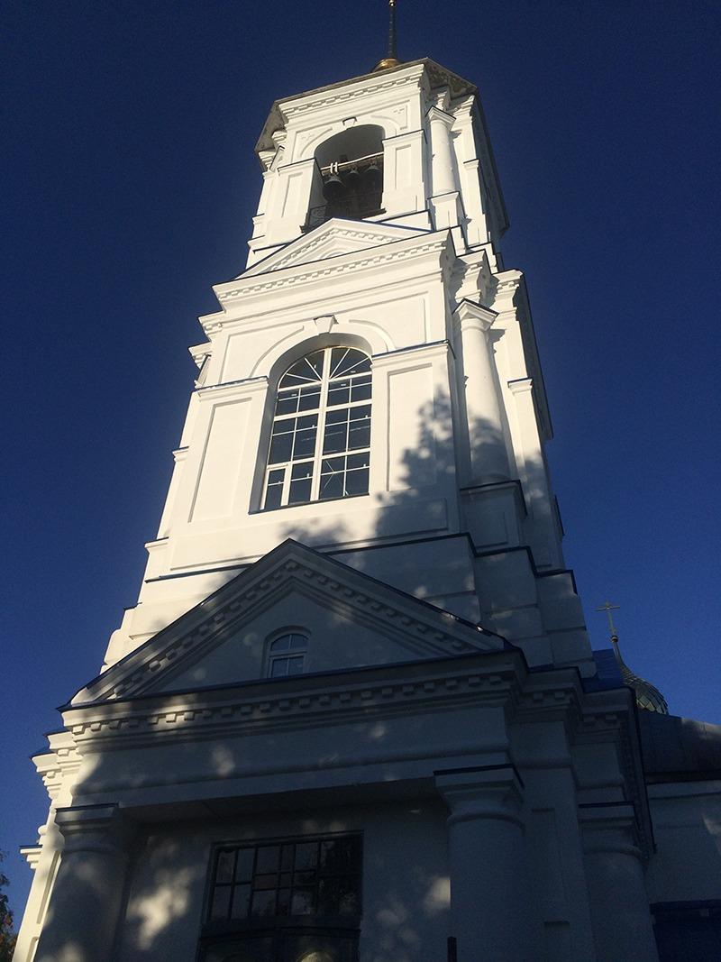 Окна ПВХ для церкви в Никольском